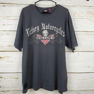 Victory Motorcycle Dark Grey T Shirt